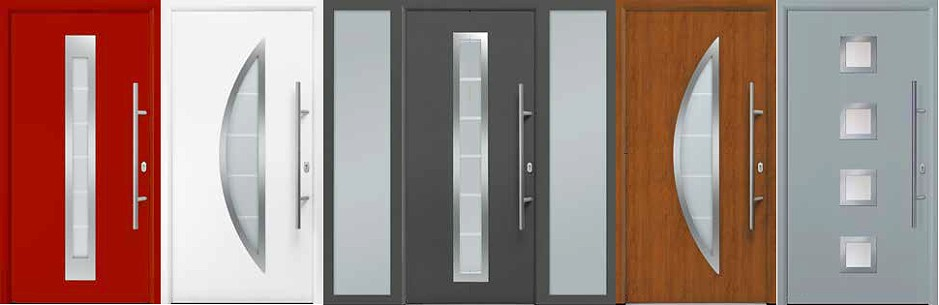 Thermo65 and Thermo46 steel front doors from Hörmann.